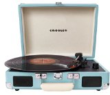 Crosley CR8005A-TU Cruiser Portable 3-Speed Turntable (Turquoise)
