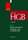 The just published second partial volume on Banking Contract Law (HGB) covers the two principal aspects of commercial banking – namely, payment transactions and lending