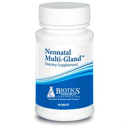 Biotics Research, Neonatal Multi-Gland 60 Tablets