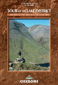 A guidebook to walking a scenic, seven-day circular route (93 miles) around England's Lake District