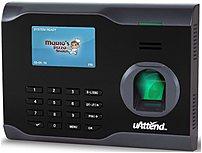 Uattend Bn6500 Biometric Fingerprint Time Clock - Wi-fi - Black