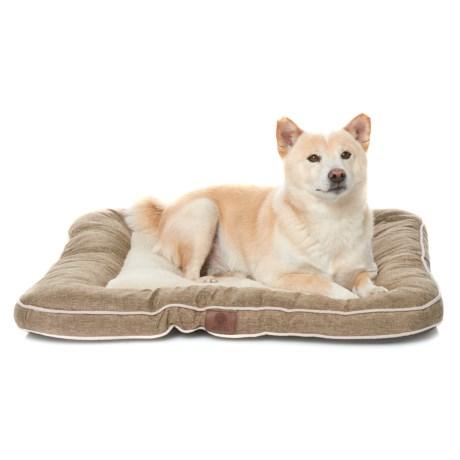 Burlap Dog Bed - 28x28?