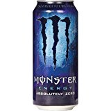 Monster Energy Drink, Absolute Zero, 16 Oz. Can (16 Count)