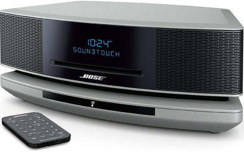 Bose Wave Soundtouch Music System Iv - Cd-r - Cd-da, Mp3, Wma, Aac, Apple Lossless Playback - 1 Disc(s) - Platinum Silver