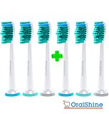 Sonicare Premium Replacement Toothbrush Heads by OralShine Proresults, fit essence, plaque control, gum health, diamondclean, flexcare, healthywhite and easyclean