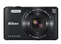 Pull the ultra slim, ultra stylish COOLPIX S7000 out of a pocket or purse, zoom in with much more power than you'd expect from such a small camera 20x and capture beautiful close ups of distant action