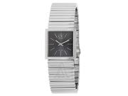 Calvin Klein Spotlight Women's Quartz Watch K5623107 Material: Stainless Steel Movement: Quartz Color: Black Shape: Squared Dial Color: Grey Band Length: 8 Gender: Female Age: Adult