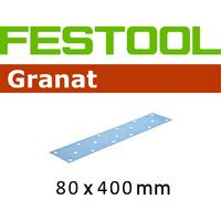 Festool STF 80x400 P40 GR/50 Abrasive Sheet Pack of 50