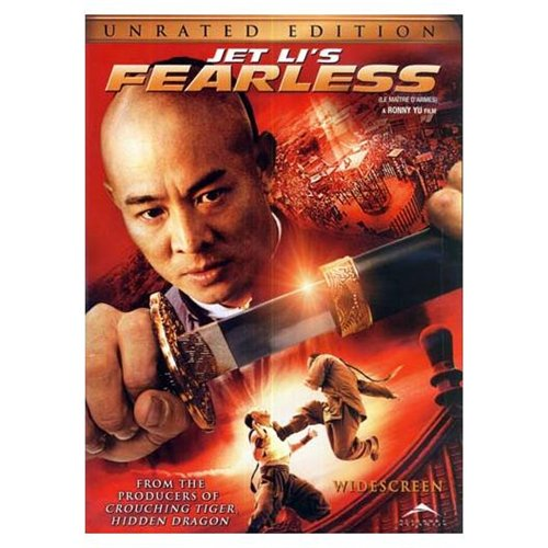 Jet Lis Fearless - Unrated Widescreen Edition - DVD