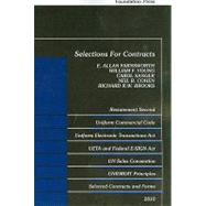 Selections for Contracts 2010: Restatement Second UCC Articles 1 and 2, Uniform Electronic Transaction Act, Electronic Signatures in Glaobal and National Commer