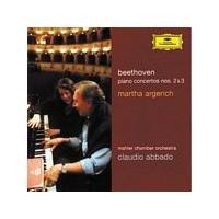 Ludwig Van Beethoven - Piano Concertos Nos. 2 & 3 (Argerich, Mahler CO, Abbado) (Music CD)