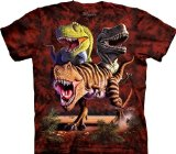 The Mountain Rex Collage T-Rex Child T-shirt L