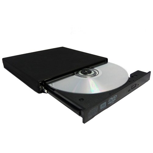 Agptek UJ-890A External DVD-Writer - DVD-RAM/ R/ RW Support - 8x Read/8x Write/8x Rewrite DVD - Dual-Layer Media Supported - USB 2.0