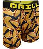 Delicious Tacos Performance Boxer Briefs for Men (Large)