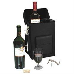 Connoisseur Leather Wine Carrier