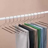 12 piece set of Jobar Slacks Hangers Open Ended pants Easy Slide Organizers