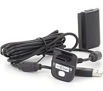 Microsoft Nuf-00001 Play And Charge Kit For Xbox 360 - Nimh Rechargeable Battery Pack - Black