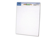 Sparco Self-stick Ruled Easel Pad  30 Sheet - 20 lb - Ruled - 2 / Carton - White Paper