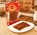 Group Chinese Special Snack Food: Spicy Gluten Li Xiao Peng La Tiao(李小鹏辣条) (10pack)