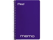 Mead 45644 Memo Book, College Ruled, 6