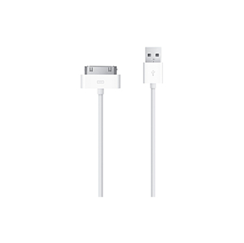 Apple Ma591g/b Usb Cable Adapter - Apple Dock Connector/usb For Iphone, Ipod Touch, Ipod Nano, Ipad - 3.28 Ft - 1 X Apple Dock Connector Proprietary C