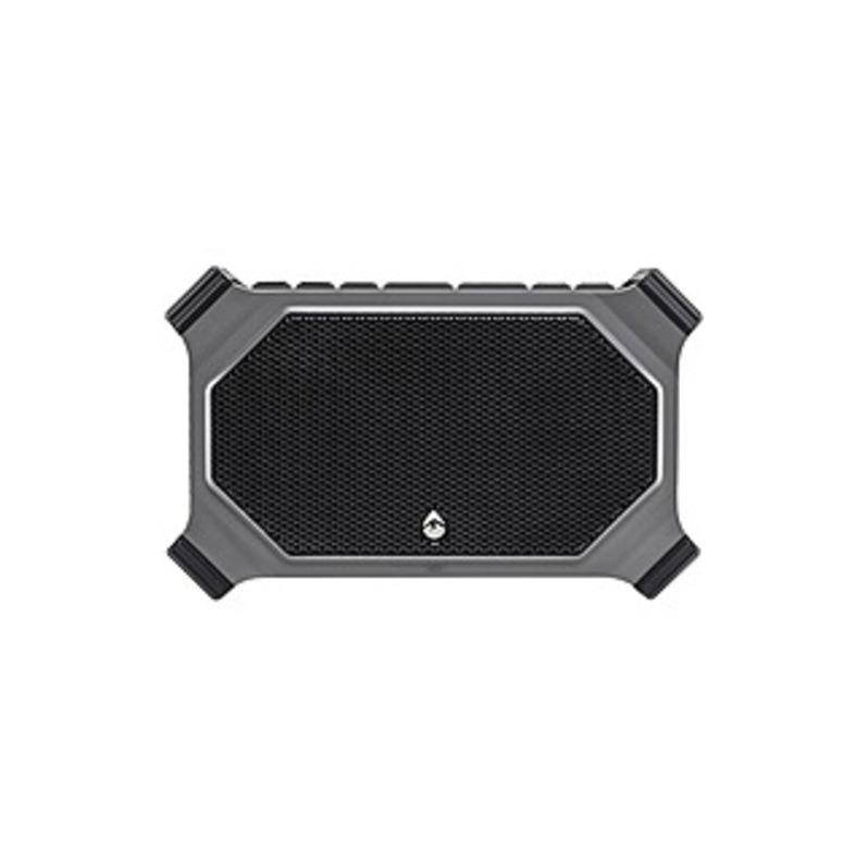Ecoxgear Ecoslate Gdi-exslt810 2.0 Speaker System - 20 W Rms - Wireless Speaker(s) - Portable - Battery Rechargeable - Gray - 125 Hz - 18 Khz - Truewi