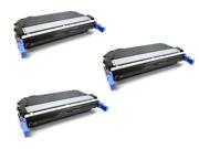 Cisinks ? 3 Pack Black Remanufactured Hp Hewlett-packard Cb400a Cb400 400a Laser Toner Cartridge For Color Laserjet Cp4005 Series, Color Laserjet Cp4005dn, Colo