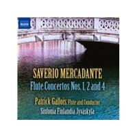 Saverio Mercadante: Flute Concertos Nos. 1, 2 and 4 (Music CD)