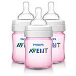 Avent Scf561/37-3 Pack Classic Baby Bottles