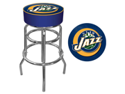 Utah Jazz Nba Padded Swivel Bar Stool