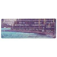Boarding Pass Bookmark - Montreal  By Indigo
