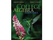 College Algebra Essentials Publisher: McGraw-Hill College Publish Date: 1/3/2013 Language: ENGLISH Pages: 562 Weight: 4.3 ISBN-13: 9780073519708 Dewey: 512