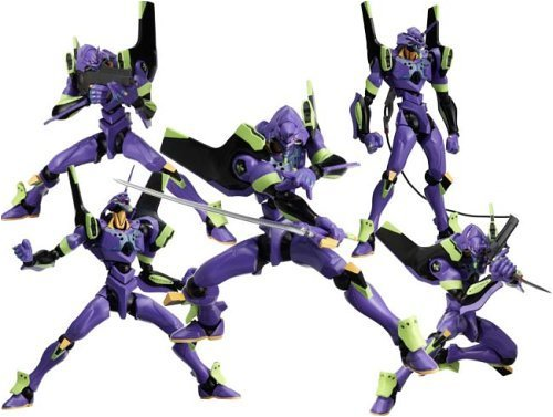 Revoltech Neon Genesis Evangelion Eva Unit 01 Purple Action Figure