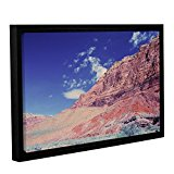 ArtWall Dan Wilson's Utah-Paria Canyon Gallery Wrapped Floater Framed Canvas Artwork, 24 by 36-Inch