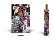 Designer Decal For Vision Spinner Vape - Tsunami