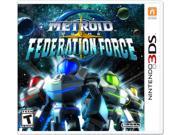 Nintendo Metroid Prime: Federation Force - First Person Shooter - Nintendo 3DS Brand: Nintendo ESRB Rating: T - Teen Genre: Shooter Platform: Nintendo 3DS Electrical Outlet Plug Type: See Details