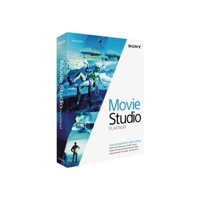 Sony Mspms13000 Movie Studio Platinum - ( V. 13 ) - Box Pack - Win