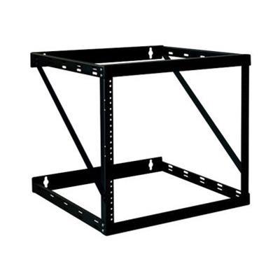 Tripplite Srwo12uhd 12u Wall Mount Open Frame Rack Cabinet Wallmount Heavy Duty - Rack - Open Frame - Wall Mountable - Black - 12u - 19