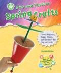 Fun And Festive Spring Crafts: Flower Puppets, Bunny Masks, And Mother's Day Pop-up Cards