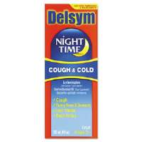 Adult Night Time Cough And Cold Liquid
