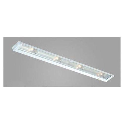 New Mach Four Light Under Cabinet Light - Finish: Satin Aluminum