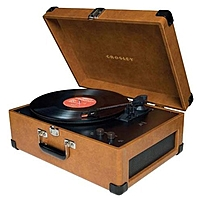 Crosley Keepsake Usb Turntable - Belt Drive - Automatic - 33.33, 45, 78 Rpm - Tan Cr6249a-ta