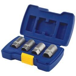 Irwin Industrial IRW3094101 5 Pc Fractional Fine- NF Deep Well TheadChaser Set