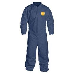 Dupont 4X Denim Blue 12 Mil Proshield Sms Chemical Protection Coveralls