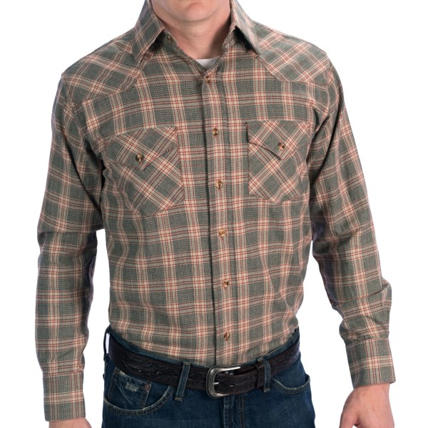 Rancho Estancia Copper Hitch Shirt - Long Sleeve (For Men)