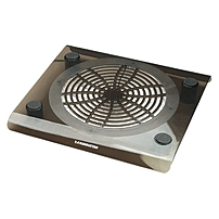 """Manhattan Usb Pass-through Notebook Computer Cooling Pad, One Fan, 200mm - Usb Pass-through Connection Keeps Port Available For Other Devices And Fits Most Laptops Up To 17"""""""" 703406"""