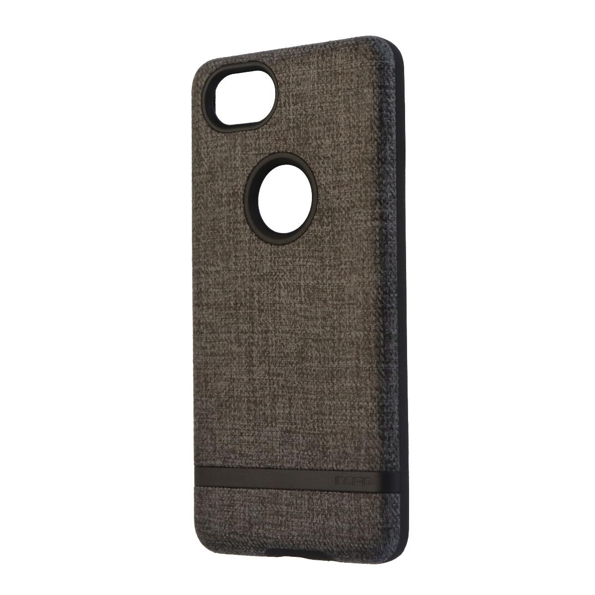 Incipio Esquire Series Hard Fabric Case for Google Pixel 2 - Dark Gray/Black