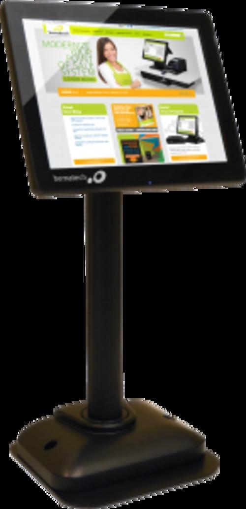 Logic Controls Lv4000u 8.4-inch Customer Display Monitor - 800 X 600 - 500:1 - 25 Ms - Usb - Black