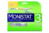Monistat 3 Vaginal Antifungal Medication, 0.18-Ounce, 3 Prefilled Applicators