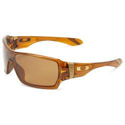 Oakley OO9190-04 Men's Shaun White Signature Series Offshoot Dark Amber Plastic Frame Bronze Polarized Lenses Sunglass